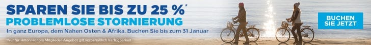 Hilton Buchen & bis zu -25% genießen